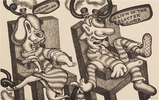 550x346 Adam And Eve, Alien In The Electric Chair, And Ideas A Group