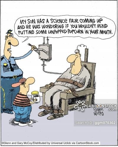 400x499 Electric Chair Cartoons And Comics