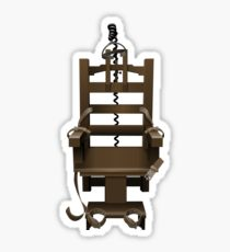 210x230 Electric Chair Drawing Stickers Redbubble