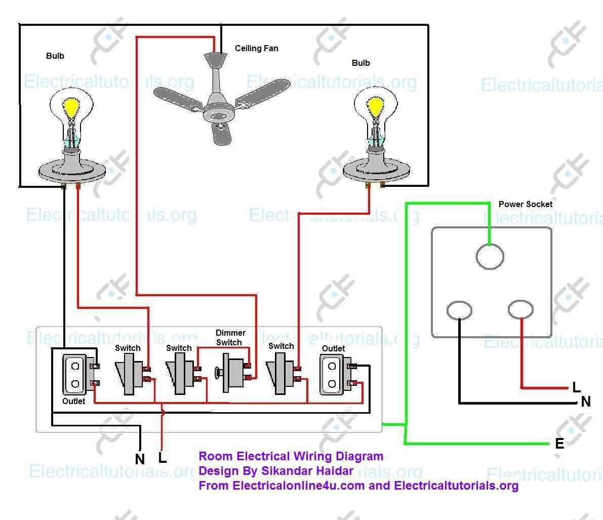 electric circuit drawing at getdrawings.com | free for ... household wiring diagrams