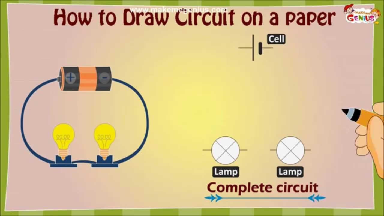 Electric circuit drawing at getdrawings free for personal use 1280x720 how to draw an electric circuit diagram for kids malvernweather Image collections