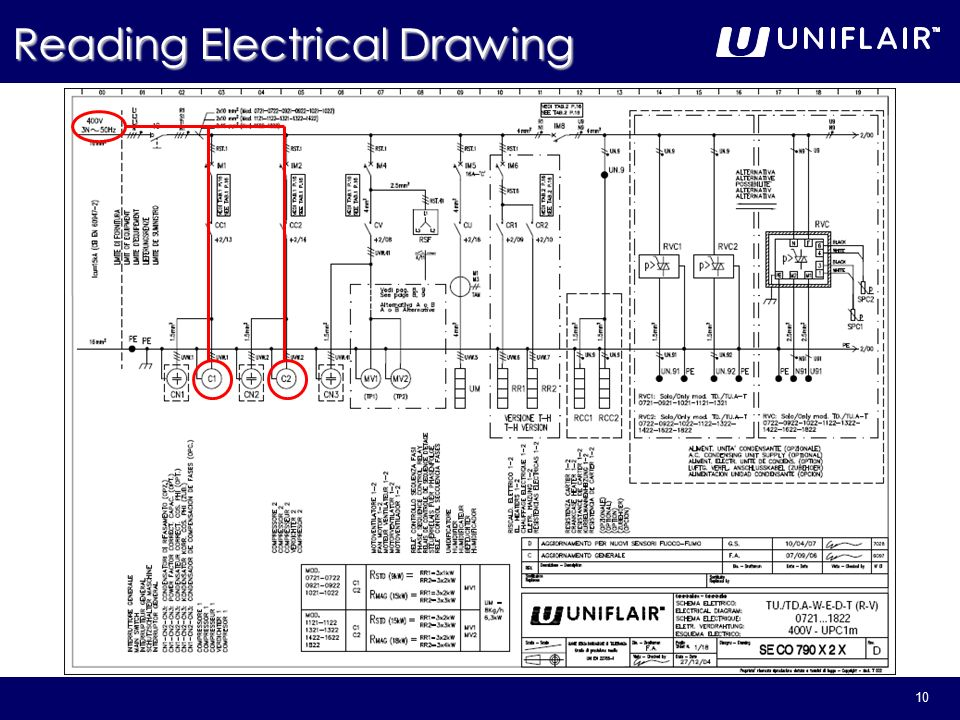 960x720 1 Reading Electrical Amp Refrigerant Drawings. 2 General