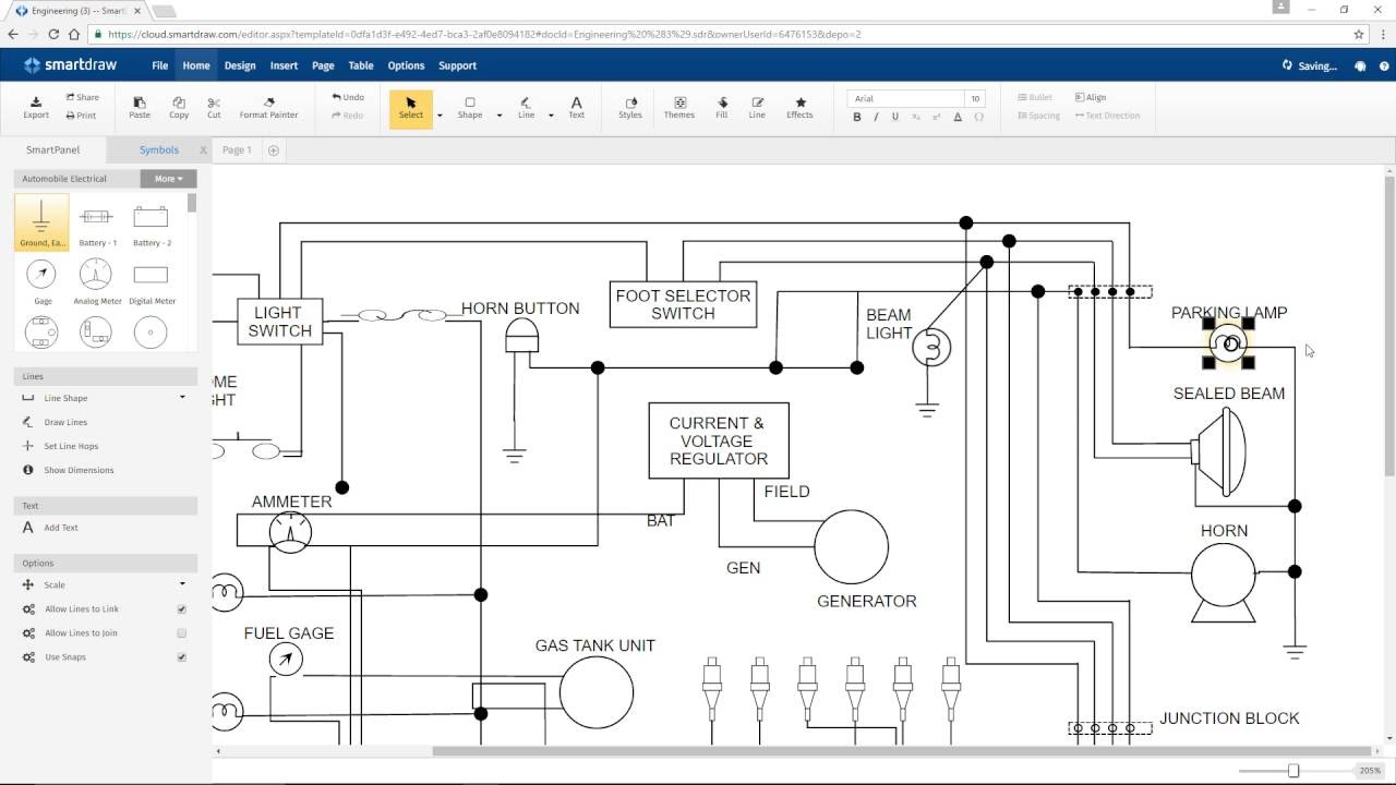 How To Draw Wiring Diagrams In Autocad Circuit Electrical Drawing At Getdrawings Com Free For Personal Drawings Lines