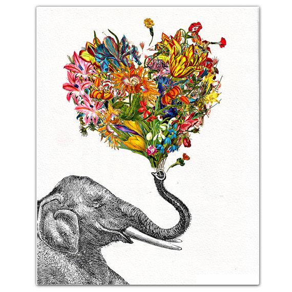 570x570 The Happy Elephant