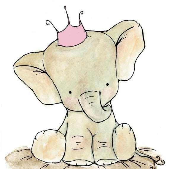 570x570 Baby Elephant Baby Shower Png