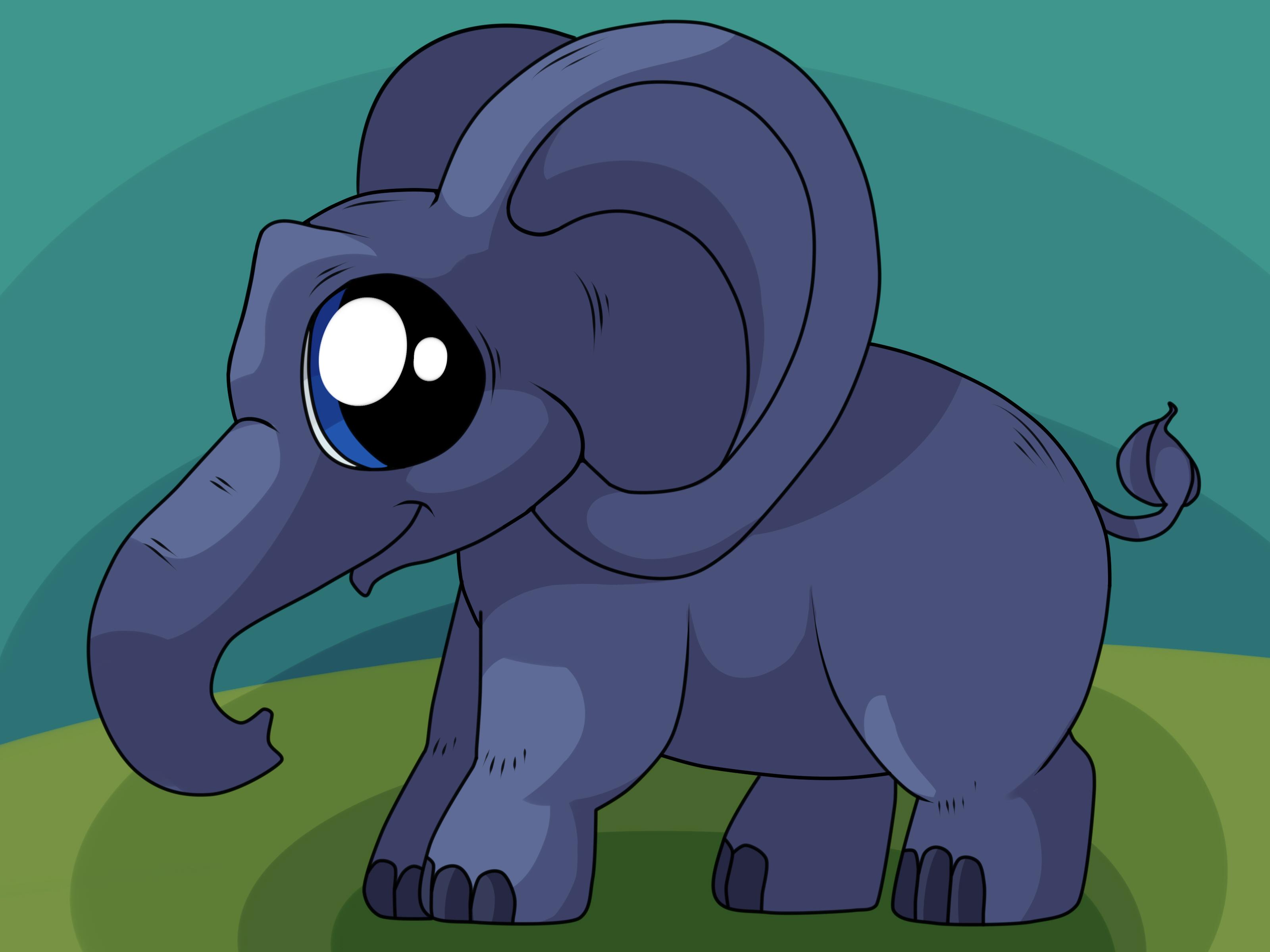 3200x2400 4 Ways To Draw An Elephant