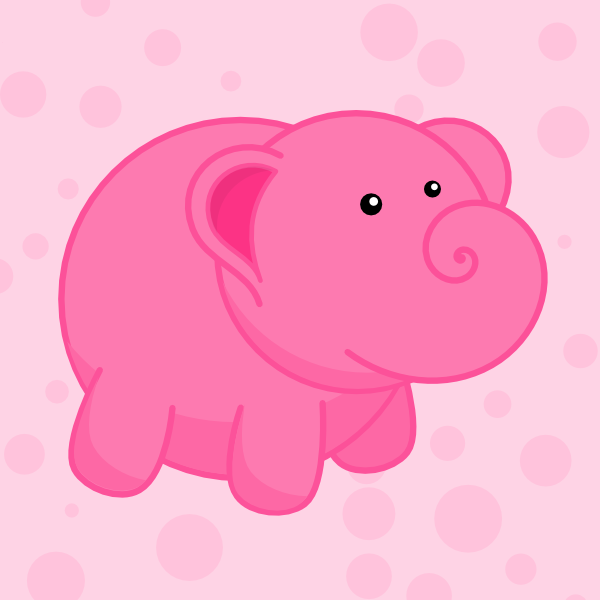 600x600 How To Draw An Adorable Elephant In Inkscape Goinkscape!