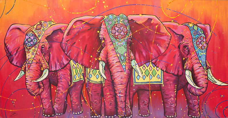 Elephant Drawing Wallpaper At Getdrawingscom Free For
