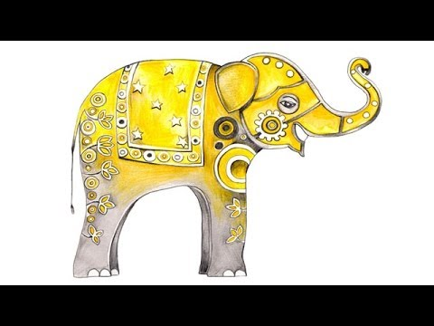 480x360 How To Draw An Elephant By Nazneen Bustani