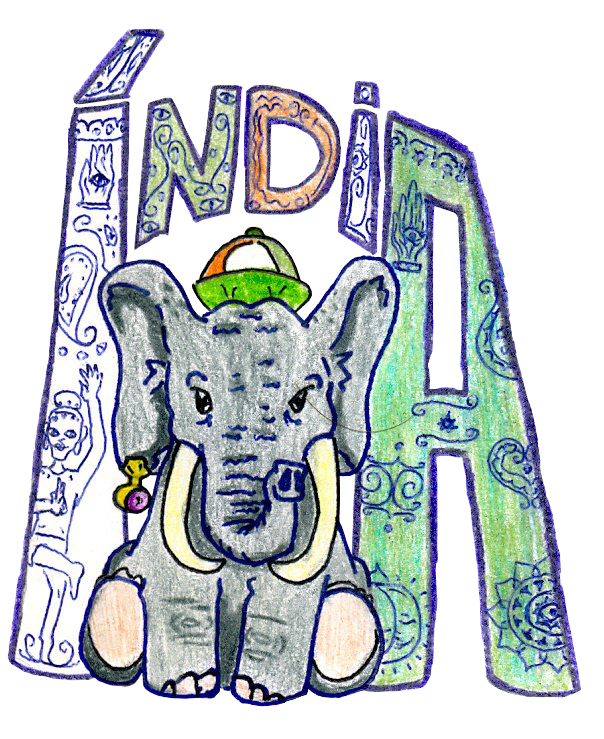 604x739 My Indian Elephant By Group Of Carol 15