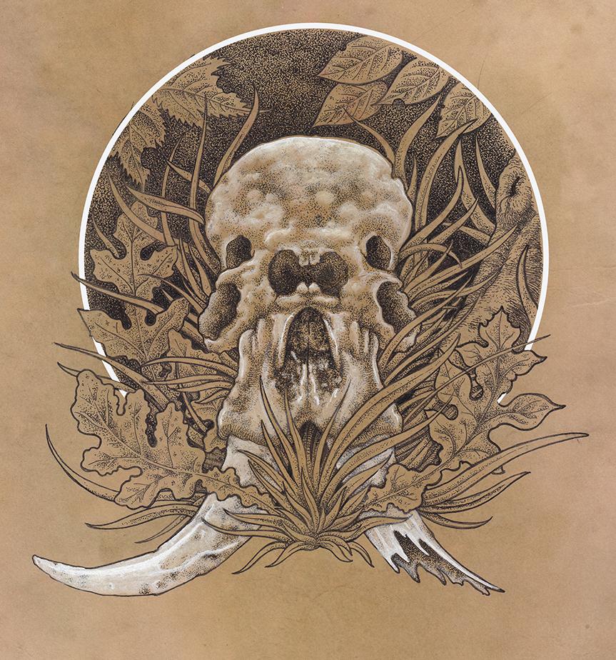 863x924 Mister Beaudry Elephant Skull Illustrations Tattoo