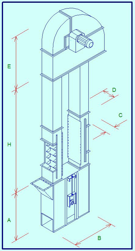Elevator Drawing at GetDrawings.com | Free for personal use Elevator ...