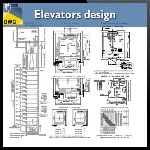 Elevator drawing at free for personal for Elevator plan drawing