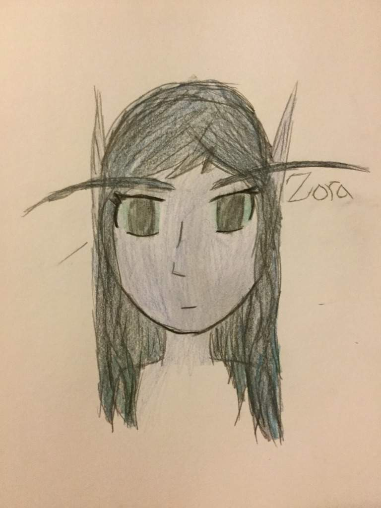 768x1024 Void Elf Drawing Wow Amino