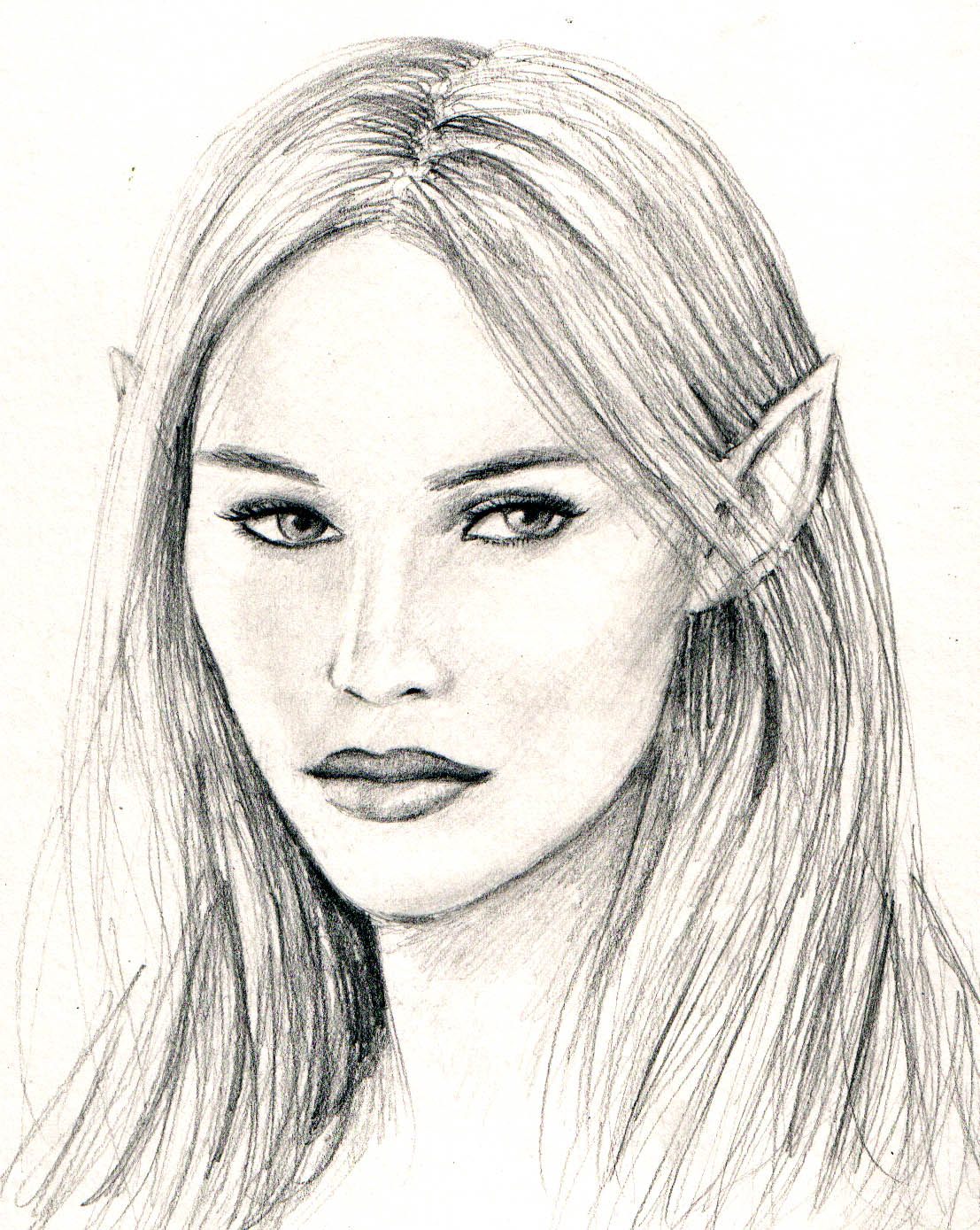 1107x1389 Elf Face Drawing Images