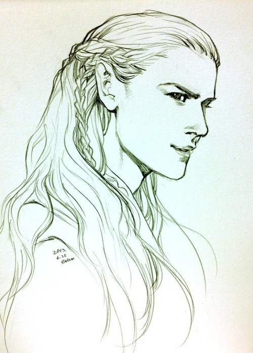 500x699 How To Draw Elves From Lord Of The Rings