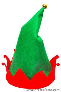 200x300 Christmas Elf Hat Craft Kids' Crafts