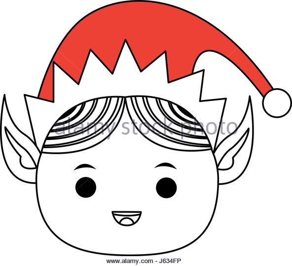 592x540 Elf Hat Drawing Stock Photos Amp Elf Hat Drawing Stock Images