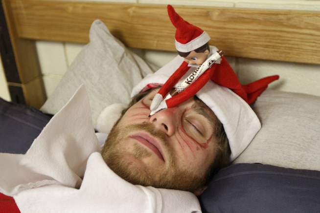 654x436 17 Unexpected College Elf On The Shelf Locations