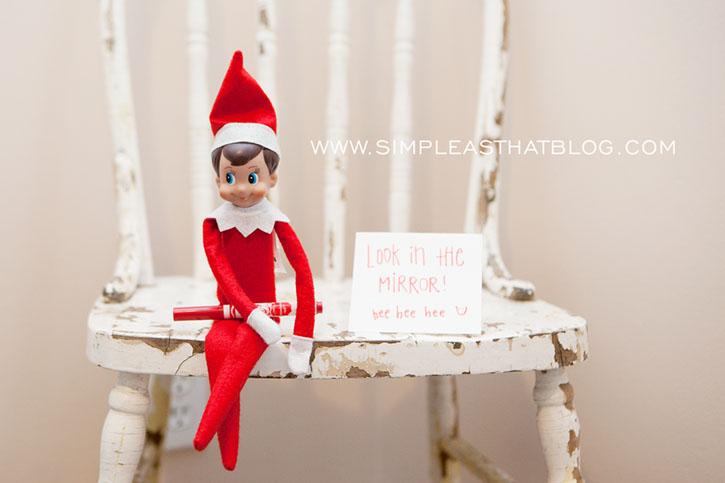 725x483 25 No Fuss Elf On The Shelf Ideas