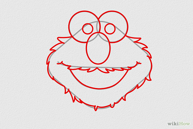 Elmo Drawing at GetDrawings.com | Free for personal use Elmo Drawing ...