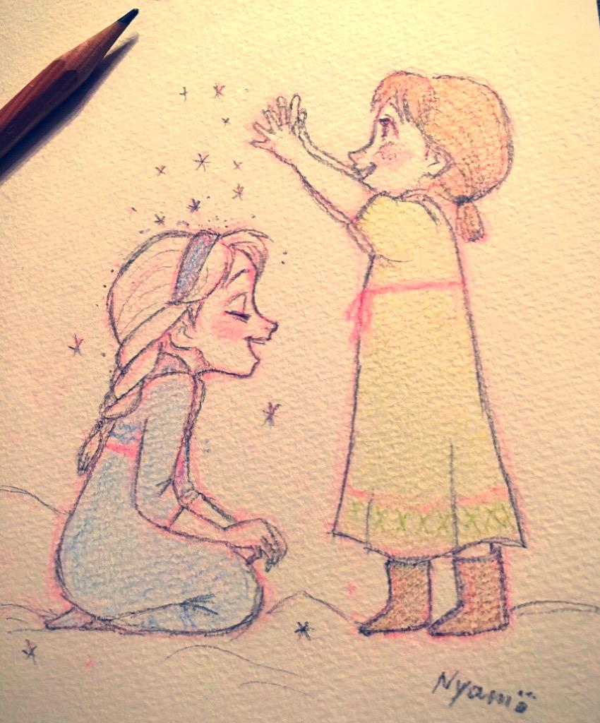 850x1024 Little Elsa Anna Disneymania Elsa, Anna
