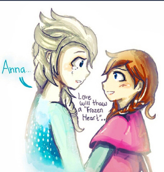 320x335 Sisterly Moments Of Elsa And Anna From Disney Frozen, I Hope You