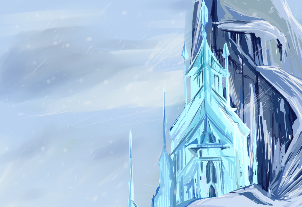 Coloring Pages For Frozen The Movie : Elsa castle drawing at getdrawings free for personal use