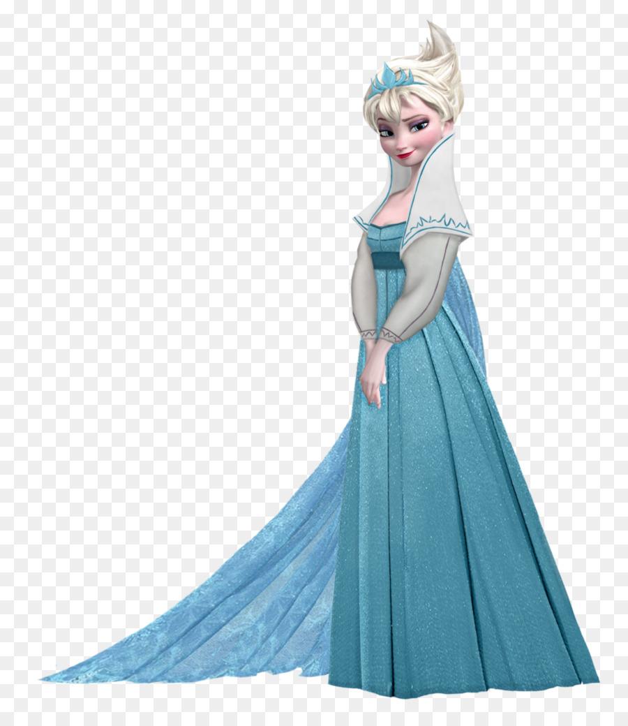 900x1040 Elsa Anna Drawing
