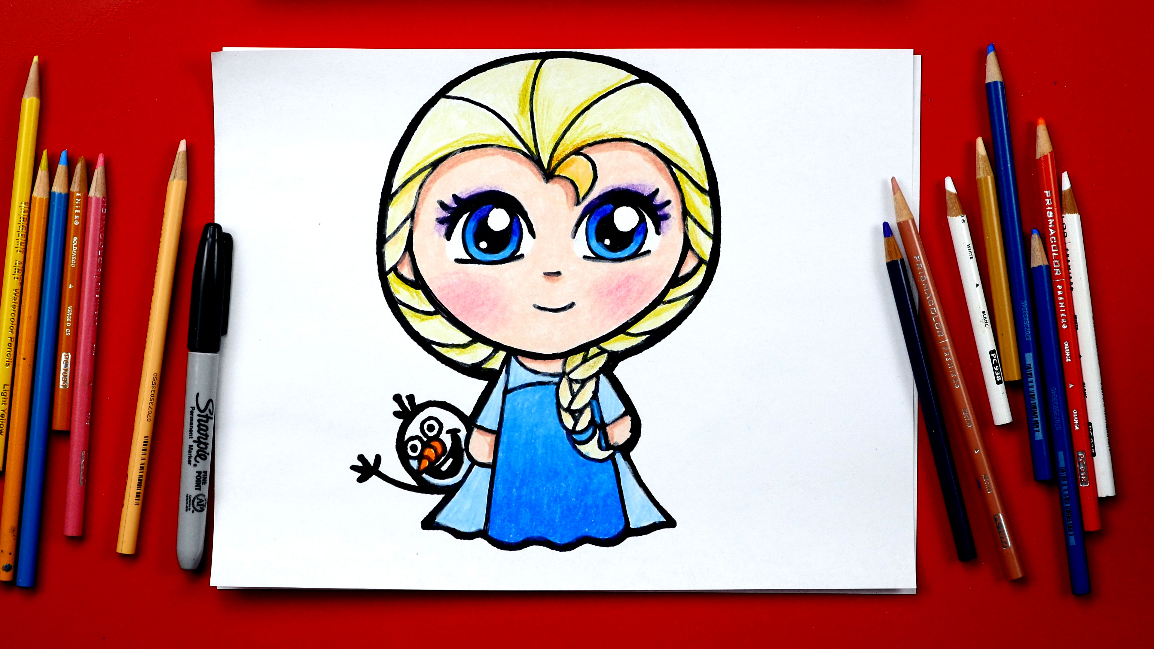 3840x2160 How To Draw Elsa From Frozen New