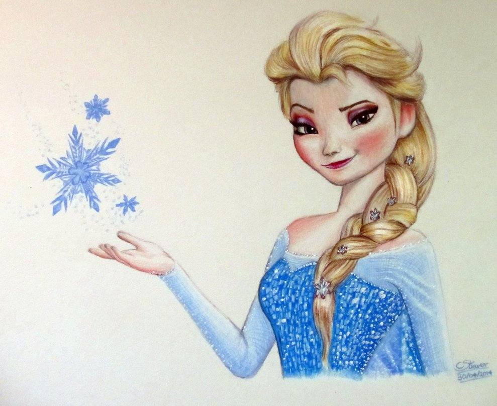 Small Frozen Coloring Pages : Elsa frozen drawing at getdrawings free for personal use