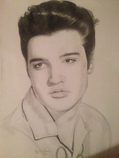 236x314 Beautiful Drawing Of 1960 Post Army Elvis Presley By Warren