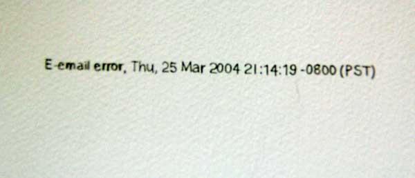600x258 Rainer Ganahl Email Errors