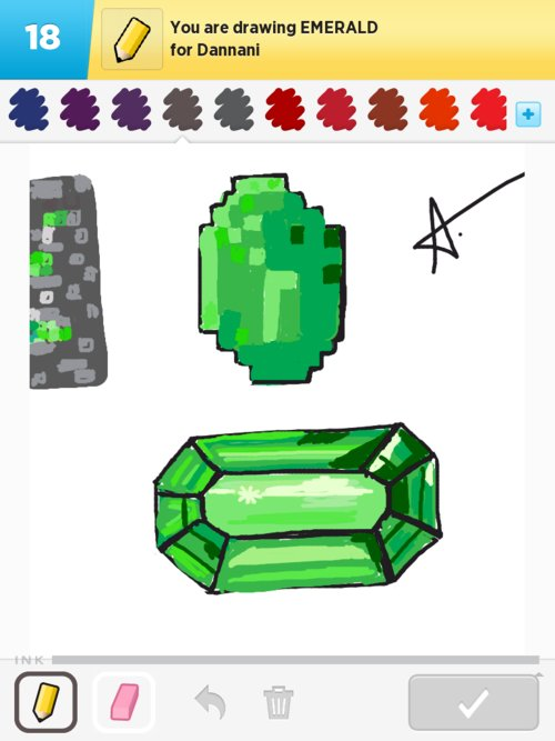 500x667 Emerald Drawings