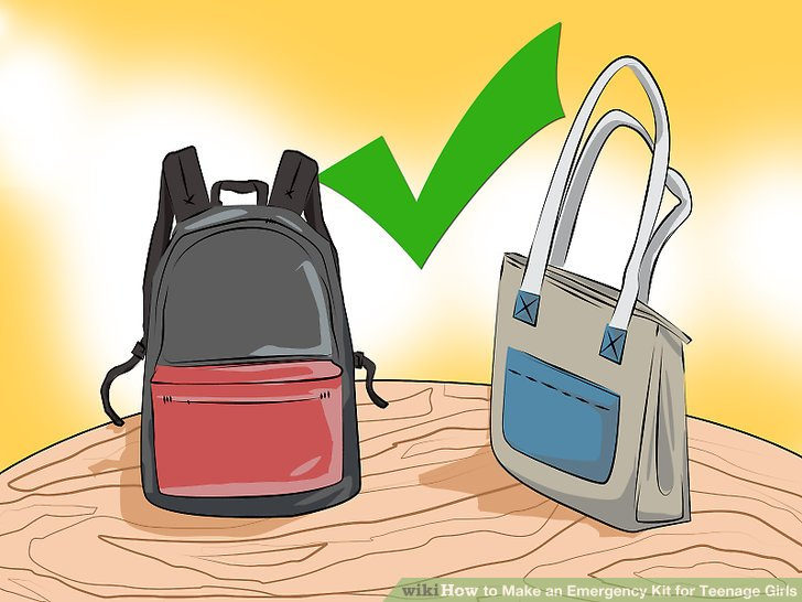 728x546 How To Make An Emergency Kit For Teenage Girls (With Pictures)