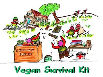 438x330 Vegetarians In Paradisevegan Survival Kitemergency Preparedness