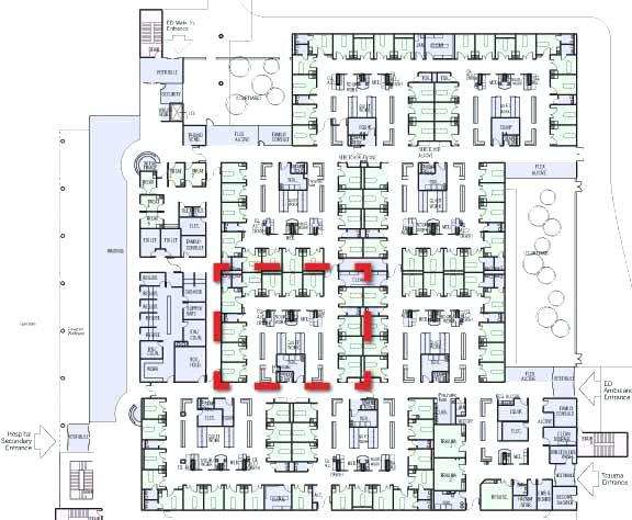 576x474 Emergency Room Design Layout Hospital Floor Plan Inspirational