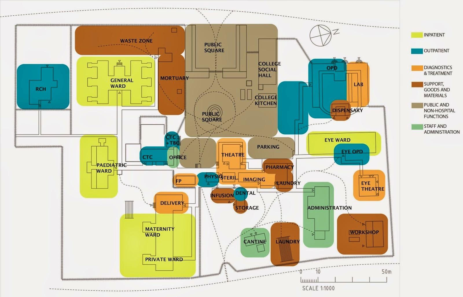 1600x1027 Modern, Efficient Functional Yet Simple Hospital Building Plan