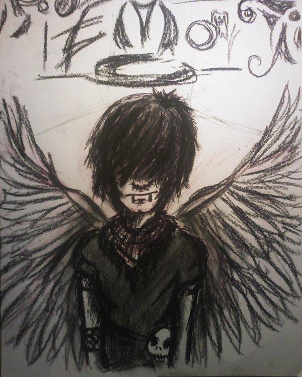 600x750 Angel Emo By Milka Bulle