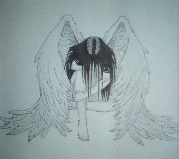 576x511 Pin By Bronx Hunter On Emo Angel And Sketchbooks