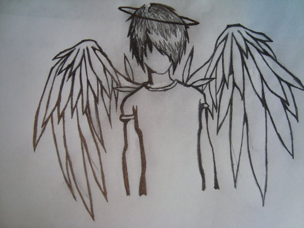 600x450 Emo Angel By Sandra Loves Drawing
