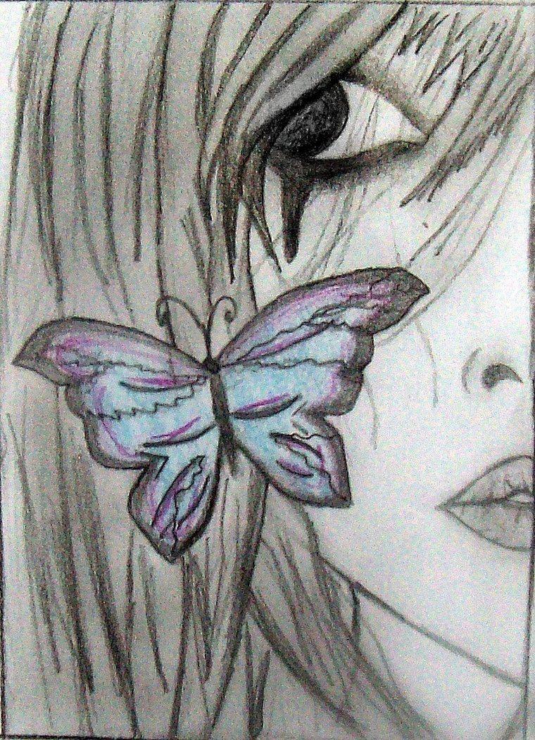 760x1052 Cool Fairy Drawings Emo Anime Girl By Nico15adry Art