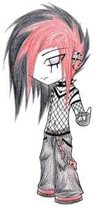 139x300 My Drawing Of A Anime Emo Guy By Macz24daddy