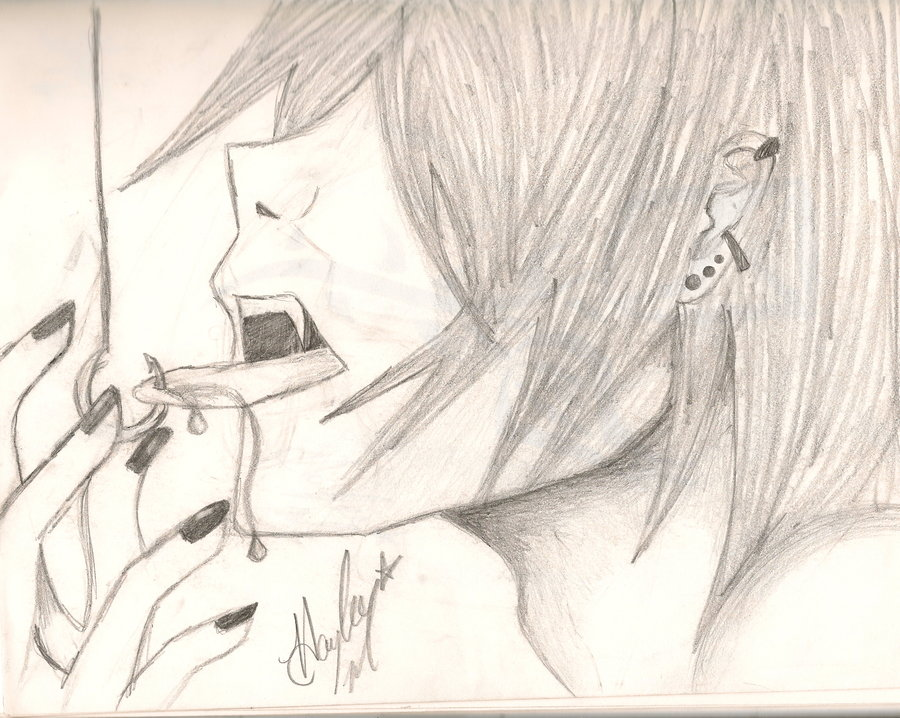 900x718 photos emo boy drawings easy