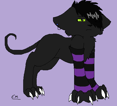 393x359 Emo Cat By Hypercarrot