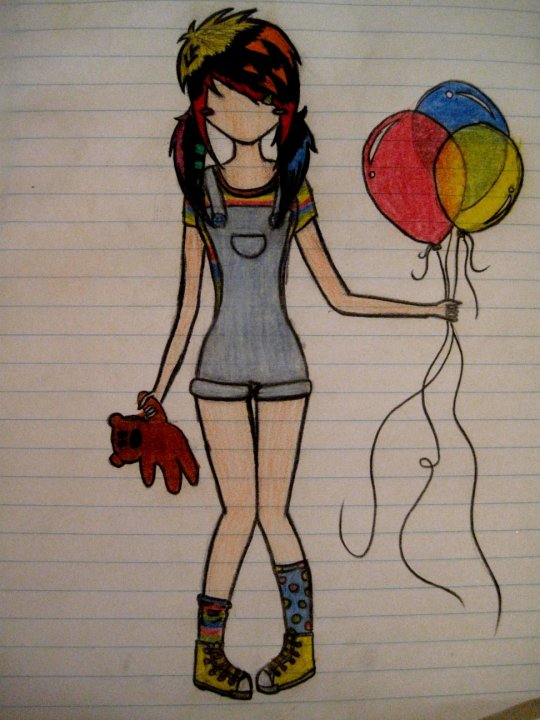 540x720 Cute Emo Drawing By Emo 1995 D3070jf By Xxemoneckoxx