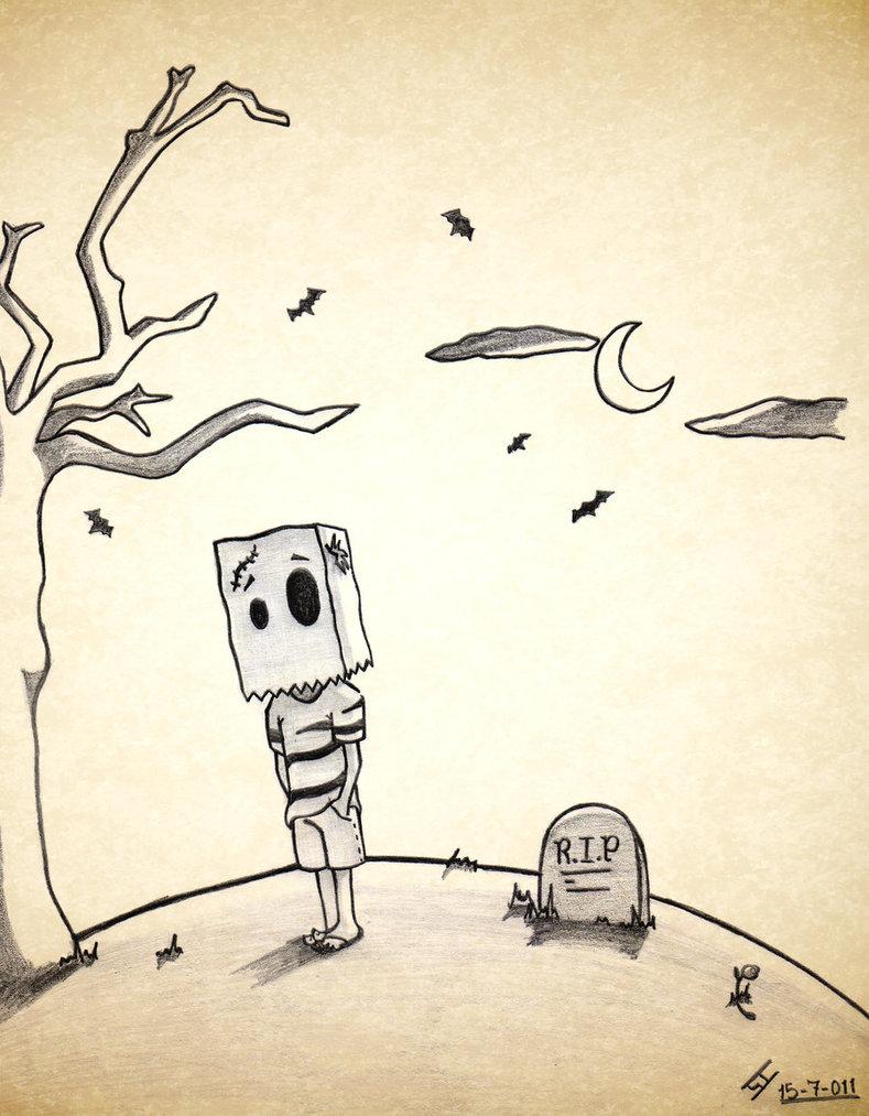789x1013 Emo Drawing By Sarahcastellanos