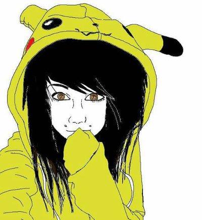 400x435 Emo Girl By Lich Draw