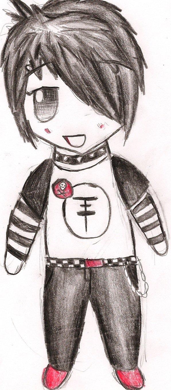596x1362 Emo Boy Chibi By Carp3 D13mx