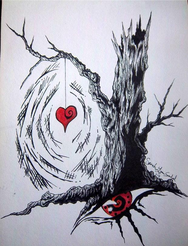 620x809 Heart Drawings, Art Ideas Design Trends